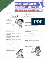 Ecuaciones-con-Una-Incognita-para-Primero-de-Secundaria