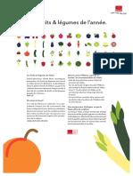 Mes Fruits Et Legumes de Lanne Printathome