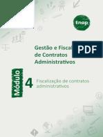 Módulo 4 - Fiscalização de contratos administrativos