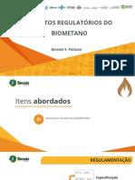 Aspectos Regulatórios Do Biometano