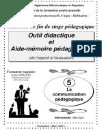 12 Communication Pedagogique
