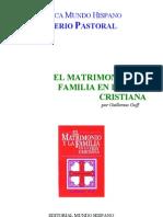 (2) EL MATRIMONO Y LA FAMILIA EN LA VIDA CRISTIANA