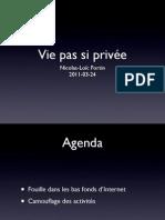 Vie pas si privée (hackerspace edition)