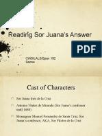 Reading La Respuesta Fall 19