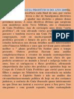 A ESSÊNCIA DO GUIA PROFÉTICO DO ANO 2009