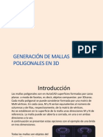Generación de Mallas Poligonales 3D