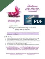 Forchianna Flower Essence Energy Healing Catalog