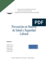 Prevencion Accidente Laboral
