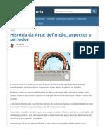História da Arte- definição, aspectos e períodos - Toda Matéria