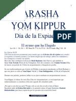 Parasha Yom Kippur