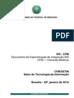Manual Webservice CFM