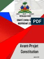 CCI CONSTITUTION Projet de Constitution 2 Fevrier 2021 20h00