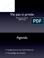 Vie pas si privée (ISACA edition)