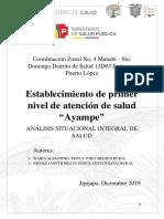 ANALISIS SITUACIONAL INTEGRAL DE SALUD AYAMPE