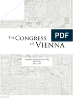 Report - Congress of Vienna