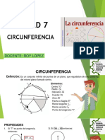 TEORÍA CIRCUNFERENCIA