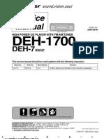DEH-P1700MP XN UN