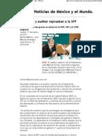Nota El Universal 17 de Marzo Del 2011 Diputados y Auditor Reprueban a La SFP