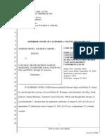 Stip. & Order Vacate Trial Origel v. Diaz et al 4.5.11