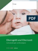 Elterngeld Und Elternzeit 24 Auflage Data
