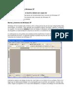 Lesson 3- La ventana de Windows XP