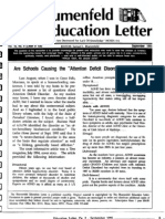 The Blumenfeld Education Letter September_1995-Are Schools Causing ADD