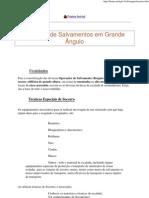 RESGATE - TÉCNICAS DE SALVAMENTO EM GRANDE ÂNGULO - MONTANHA