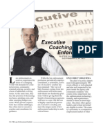 Executive Coaching Law Enforcement FBI