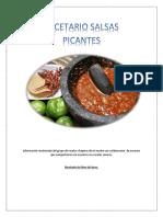 RECETARIO DE SALSAS PICANTES.pdf · versión 1