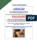 CURSO DE CULINARIA COM MICROONDAS