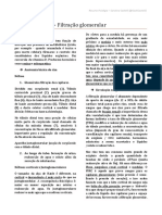 FISIO- Filtração Glomerular