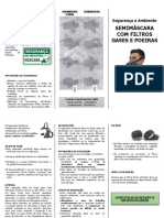 Folheto - Semimascara