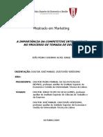 Alves Jorge 2009 - A Importância Da Competitive Intelligence