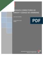CODIGOS CORRECTORES DE ERROR