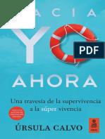 «Hacia YO AHORA», Úrsula Calvo