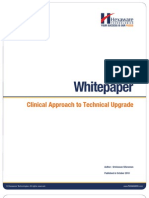 Clinical Approach to Technical Upgrade