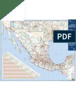 Mapa de La Republica Mexicana Sct