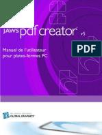 Manuel de Jaws PDF Creator