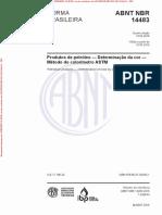 NBR14483 - COR
