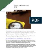 BP Deepwater Horizon Gulf of Mexico Oil - Radiactive