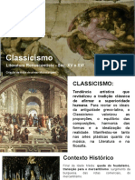 Classicismo e Quinhentismo