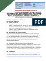 1.-ESPECIFICACIONES OBRAS PRELIMINARES- VILLA DE MANTA