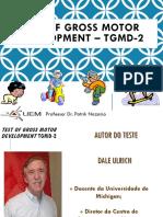Teste TGMD-2 Ulrich (2000)