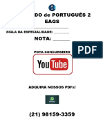 SIMULADO de PORTUGUÊS 2
