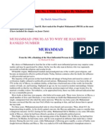 Muhammad-Number-1 by Michael H. Hart