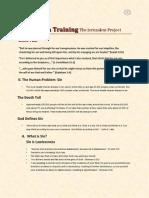 evangelism training week complete class notes