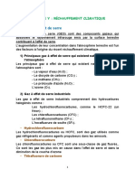 CHAPITRE V . RÉCHAUFFEMENT CLIMATIQUE