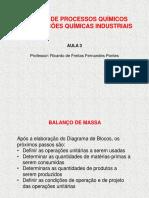 Aula 3 - Projetos de Processos by Prof. Ricardo Pontes