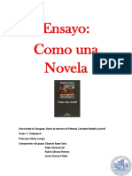 Ensayo, Como una novela, Grupo-6