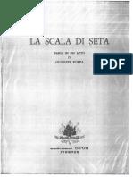 La Scala Di Seta, Vocal Score